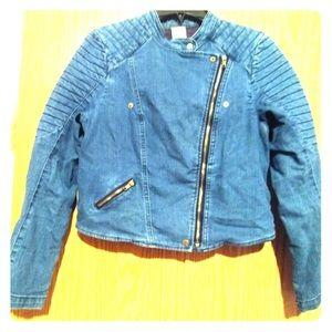 Denim Moto Jacket